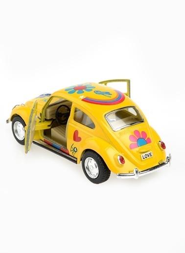 Kinsmart 1967 Volkswagen Classical Beetle 1/32   Renkli